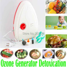 Portable Active Ozone Generator Sterilizer Air purifier Purification Fruit Vegetables Water Food Preparation Ozonator Ionizator(China (Mainland))