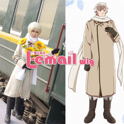 Customized Axis powers APH Hetalia Russia Cosplay Costume Ivan Braginski