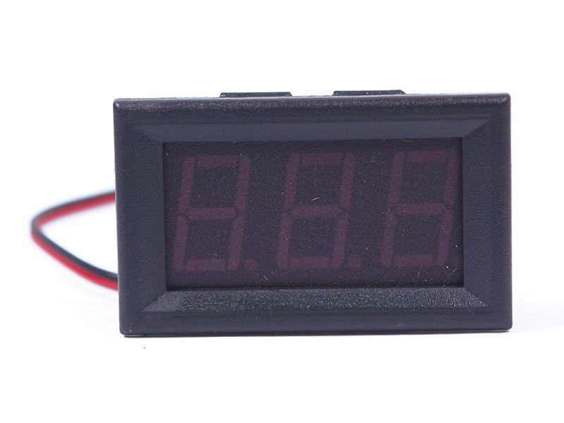 Hot DC 0 30V Blue LED 3 Digital Display Voltage Voltmeter Panel Motorcycle 1 55835