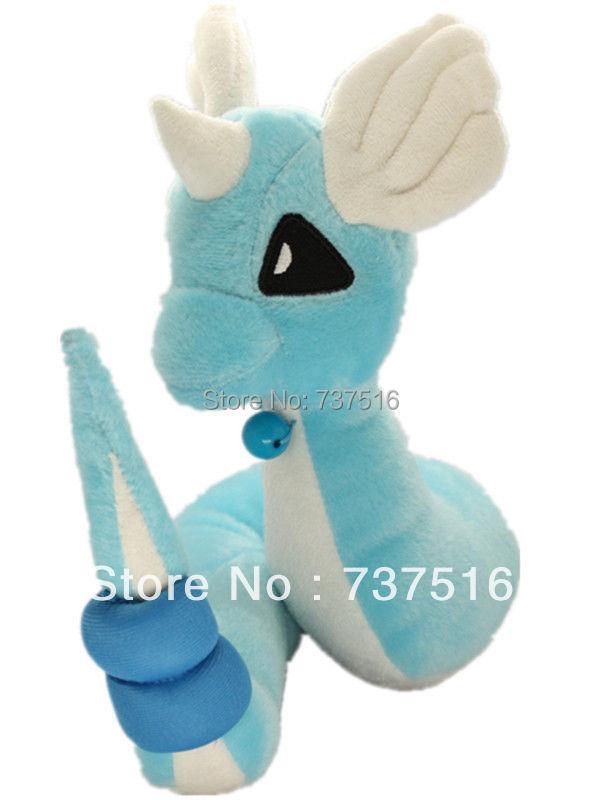 "Dragonair Hakuryu Pokemon Pokedoll Toy Plush 11"" Drangon Snake Blue Stuffed Animal Doll New(China (Mainland))"