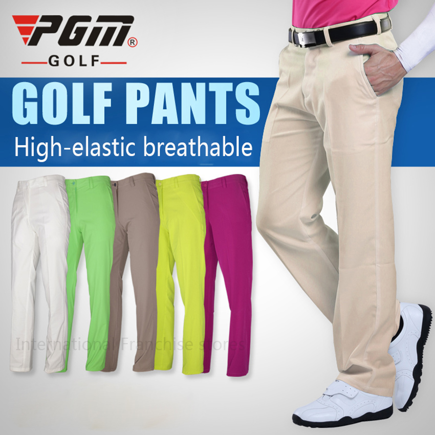 2016 PGM men golf pants thin soft breathble golf sports Leisure trousers High flexibility quick-dry Full Length pants<br><br>Aliexpress