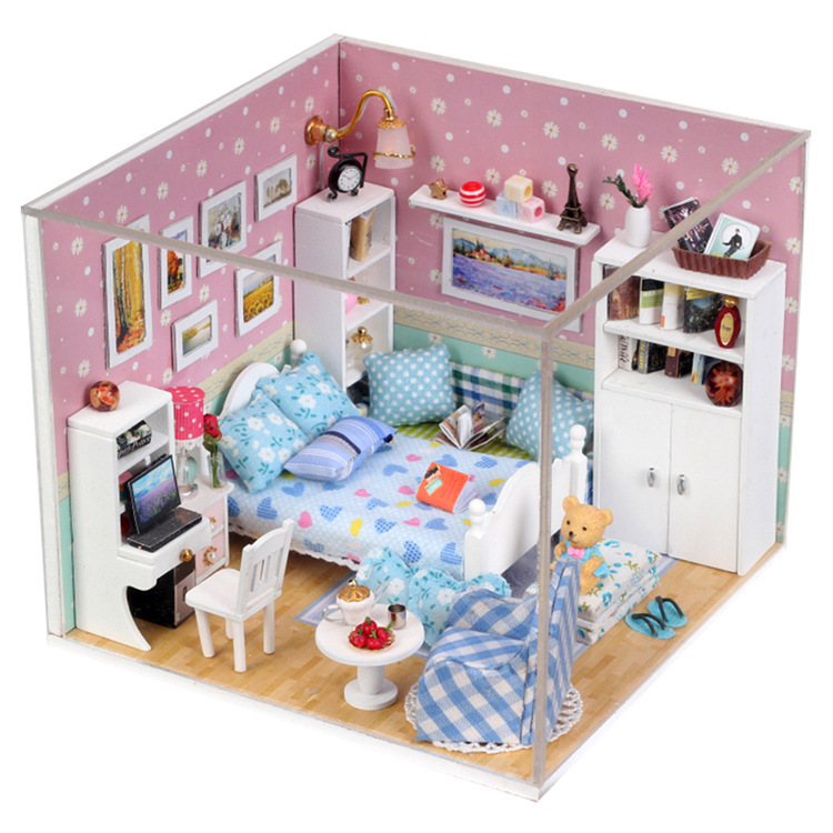 Miniature dollhouse kits promotion shop for promotional for Africa express presents maison des jeunes