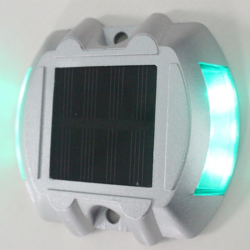 Горячая распродажа солнечной шип алюминия из светодиодов светофоры двойной светоотражающие дорожные знаки, Энергосбережение, Охрана окружающей среды