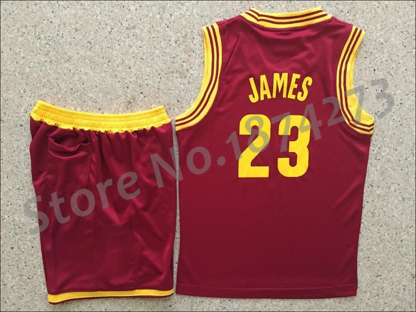 2014 new hot sale 23 youth lebron james kids youth red for Lebron shirts for sale