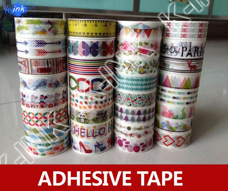 10m length , arrow / birds / hands colorful washi scrapbooking  tape , kawaii paper masking tape / sticker for DIY decoration<br><br>Aliexpress