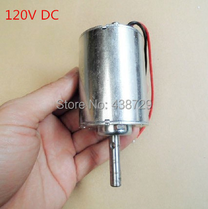 Free shipping Used 120V DC power generators DC motor for wind turbines(China (Mainland))
