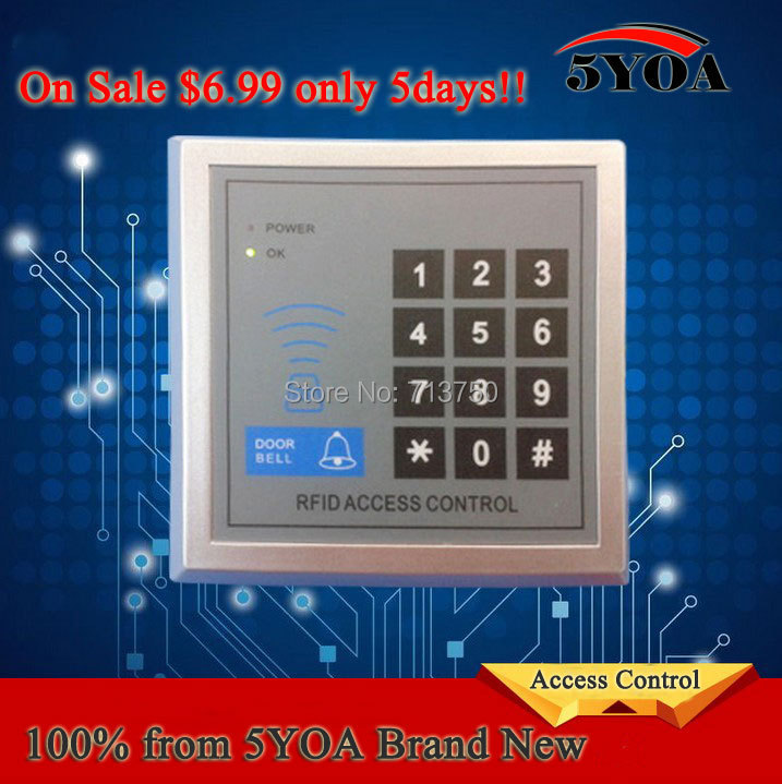 100% 5YOA Brand New Security RFID Proximity Entry Door Lock Access Control System For Home Office(China (Mainland))