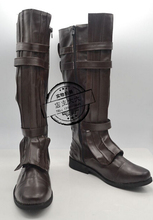 MovieCoser High Quality Custom Made Star Wars Anakin Skywalke Cosplay Shoes