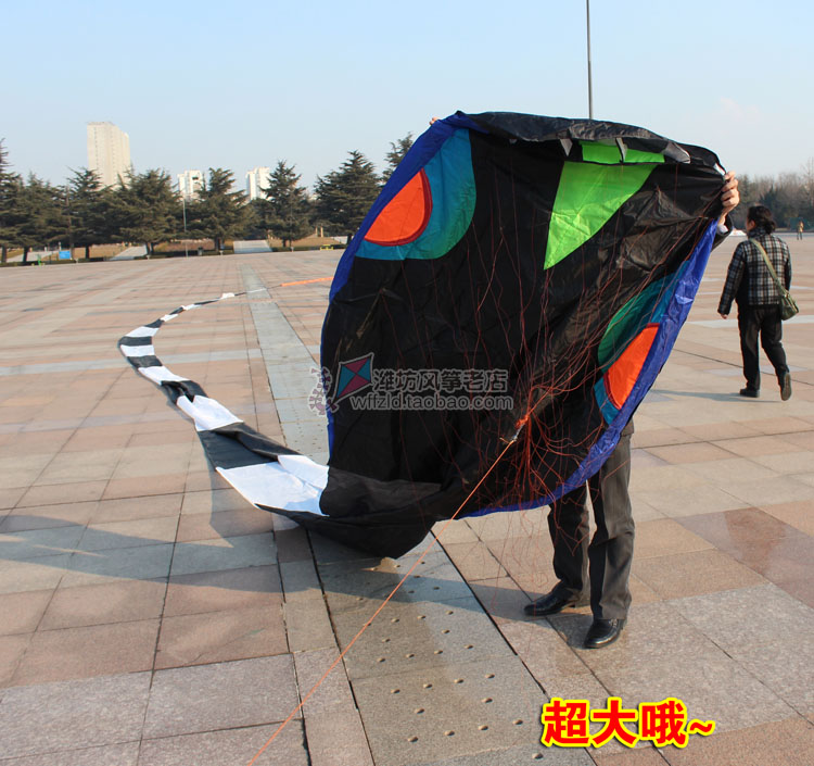 3D 40 meters Stunt huge SNAKE POWER Sport Kite outdoor toy free shipping aaa(China (Mainland))