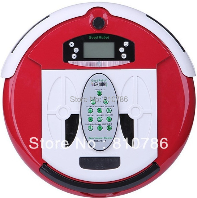 (Free to Russia by Air) 4 In 1 Multifunction Robot Vacuum Cleaner (Clean,Sterilize,Mop,Flavor),Virtual Wall,Schedule,Self Charge