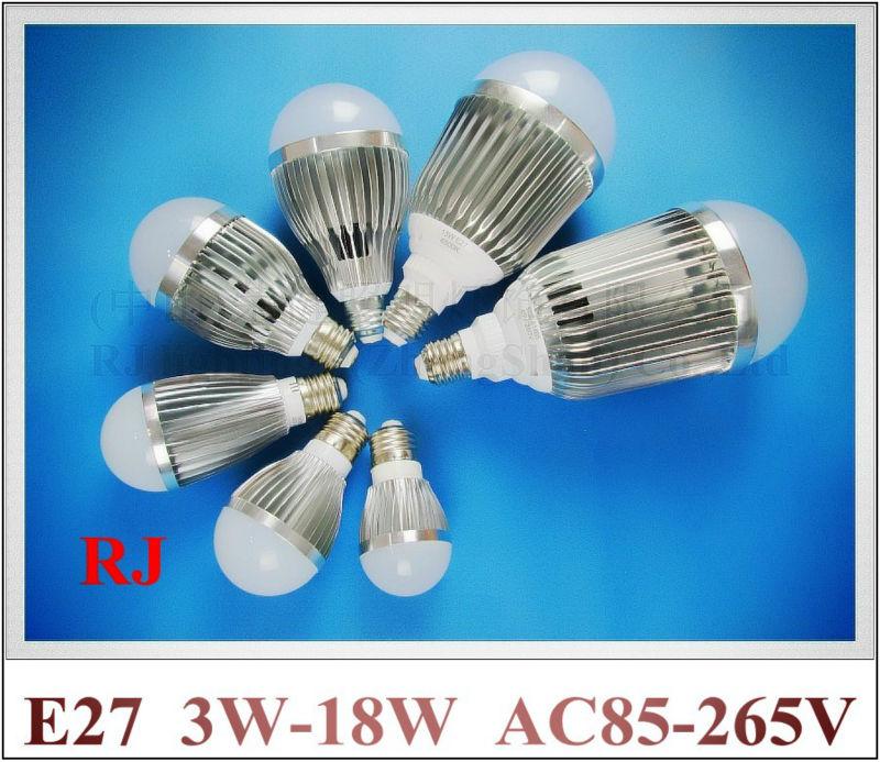 aluminum SMD5730 LED bulb LED bubble ball bulb globe light lamp 3W 5W 7W 9W 12W 15W 18W AC85-265V E27 high quality high bright(China (Mainland))