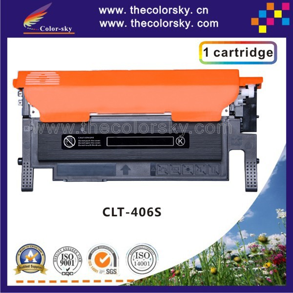 (CS-S406) Color laser toner cartridge ceramic toner For samsung CLT 406 K406S 406S CLP 360 CLX 3300 3305 (1.5k/1k pages)<br><br>Aliexpress