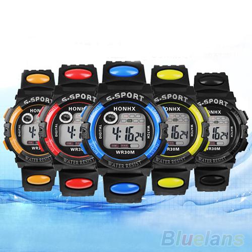 Fashion Unisex Sports Digital Electronics LED Quartz Alarm Day Date Rubber Wrist Watch for Man Woman 1NTA(China (Mainland))