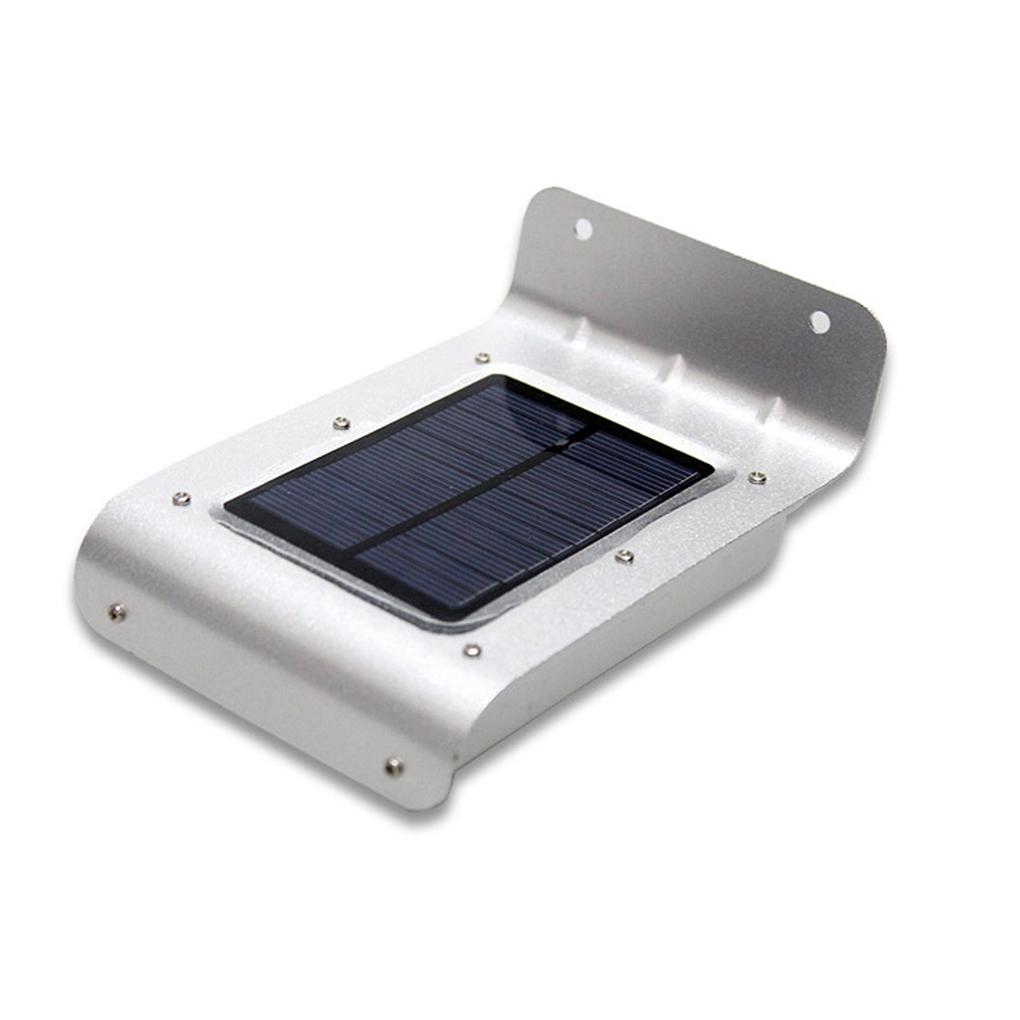 16LED Solar Energy Wall Lamp Light Control Human Body Induction IP65 Waterproof(China (Mainland))