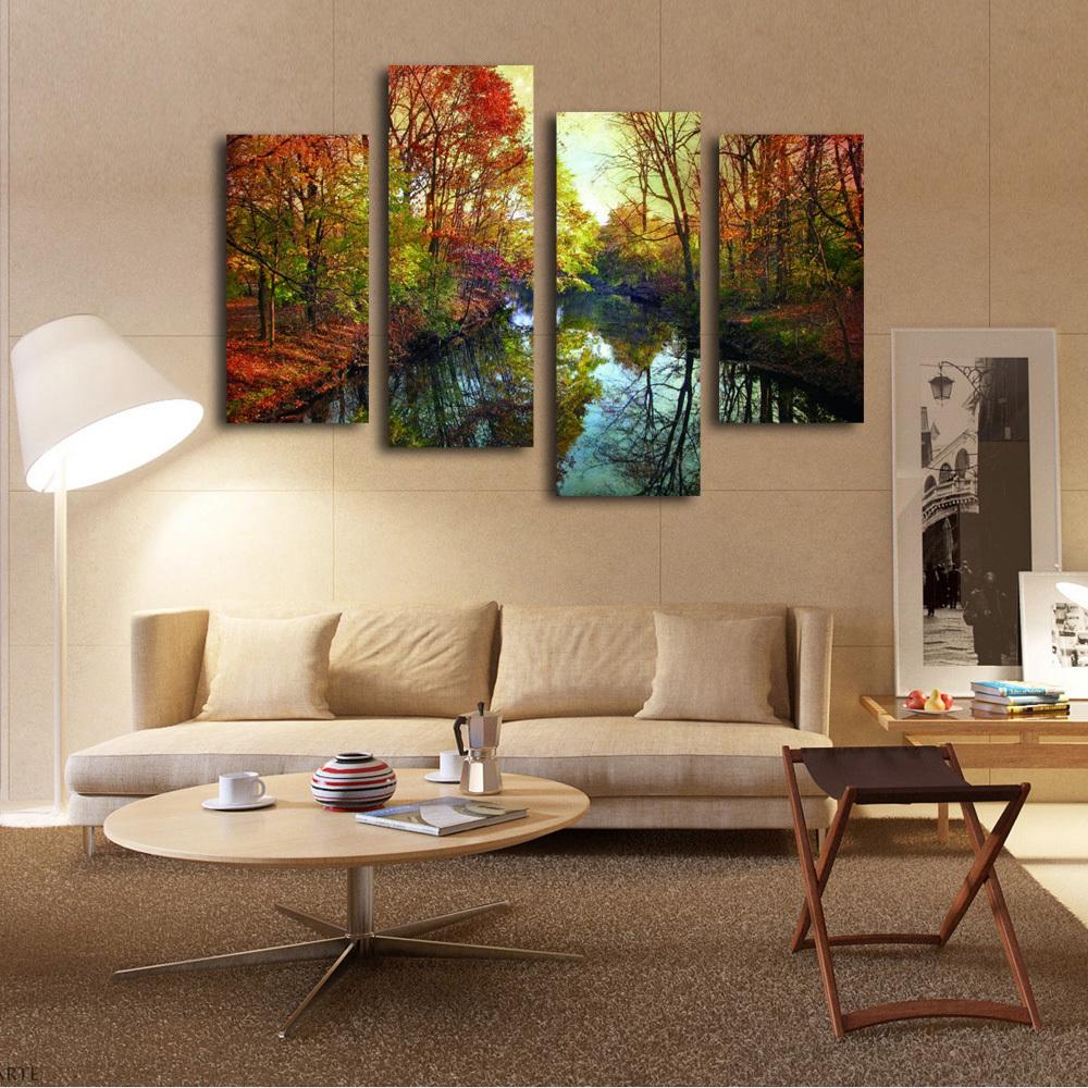 multi panneau toile promotion achetez des multi panneau. Black Bedroom Furniture Sets. Home Design Ideas