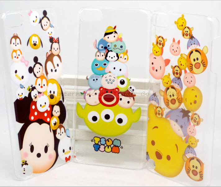 For Touch5 Cute Case Cover For Apple ipod Touch 5 Case Touch5 Cases Shell 8 Styles Multiple Cartoon Animals Cute Design Pretty(China (Mainland))