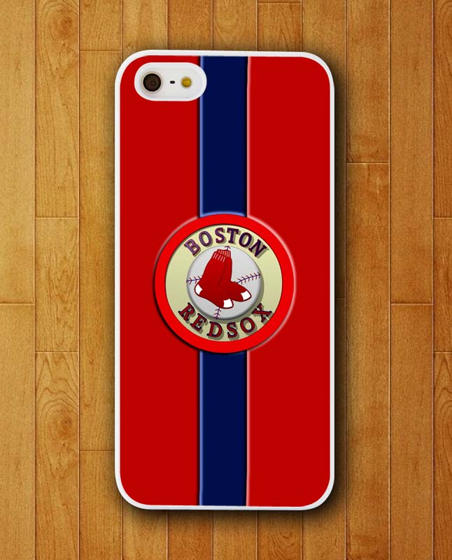 Customized Phone Case Boston Redsox Middle Logo Retro Design Case for iphone 4S/5S/SE/6/6S/Plus Mobile Cover 2015(China (Mainland))