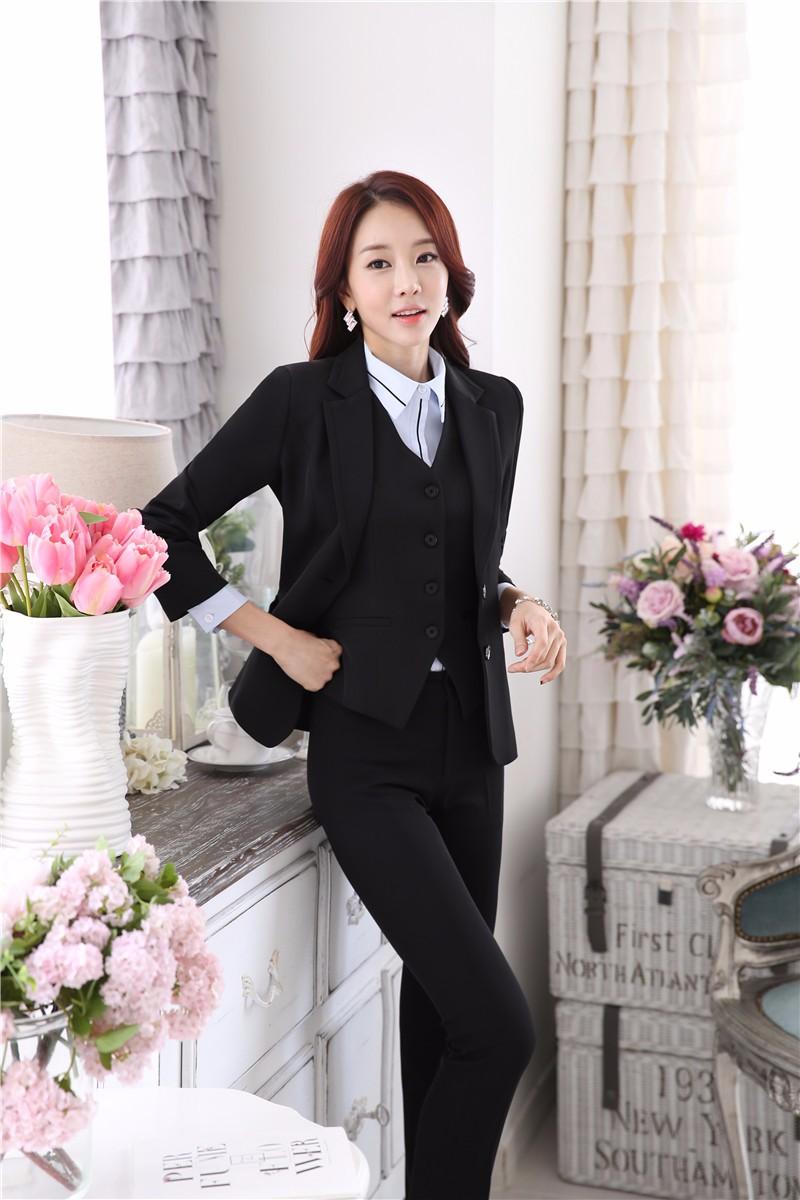 Wholesale New Professional Formal Pantsuits Ladies Business Women