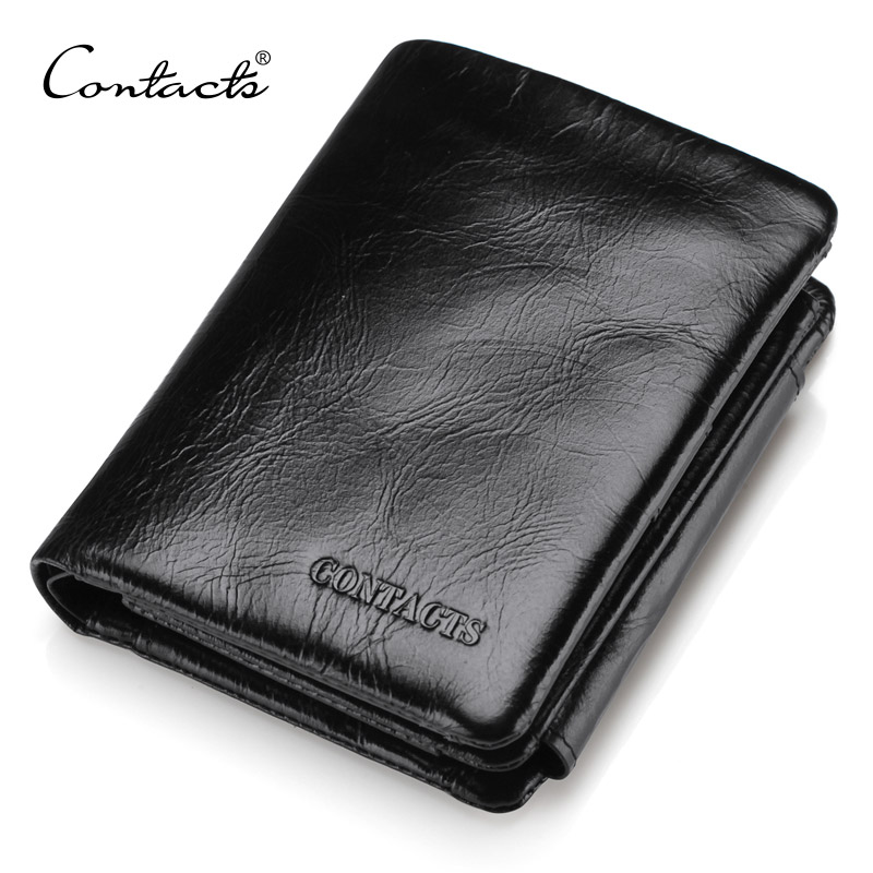 Men Wallet 2016 New Design Men Trifold Wallets Fashion Purse Card Holder Wallet Man Genuine Leather With Zipper Coin Pockets(China (Mainland))