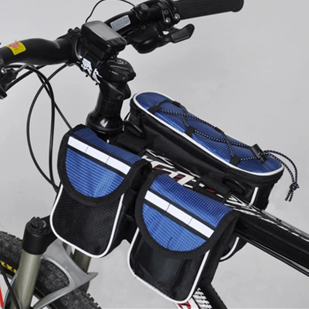 Bike Bicycle bags Road Folding Bike Bag Basket Sport Cycle Bicycle Bag Cycling MTB Bag Bicycle Accessories with Rainproof cover(China (Mainland))