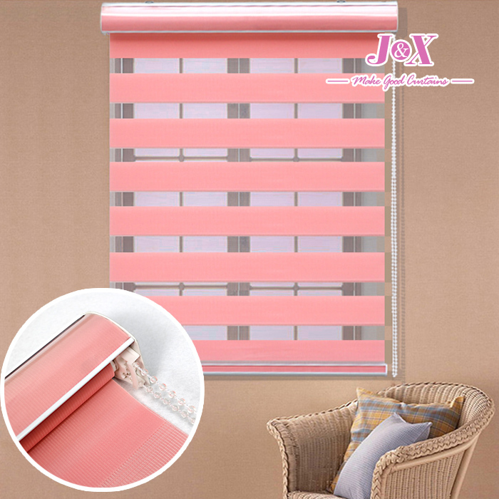 Fashion Rainbow Curtains New Arrival Thickening Roller Shutter Double Layer Shade Blinds The Finished Curtain Free Shipping(China (Mainland))