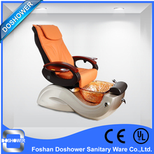 DS 2016 salon furniture luxury spa pedicure chair with glass bowl(China (Mainland))