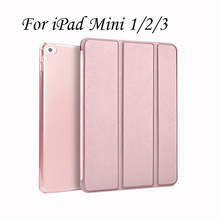 Luxury Ultrathin Case For iPad Mini 1 2 3 With Auto On/Off cover For iPadmini Smart Automatic Wake-up & Sleep Tablet Cases