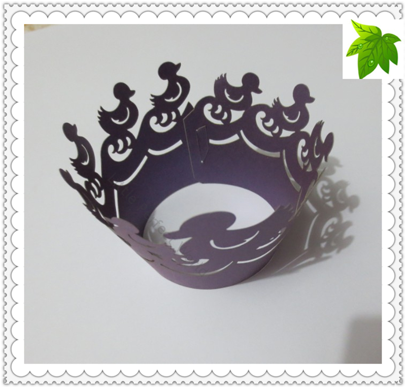 Cake Decorating Equipment Next Day Delivery : Free Shipping! 100 pcs Purple Duck Cake decorating ...