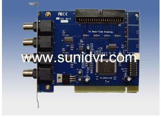 High quality wireless DVR CCTV DVR CARD GV-250 4 CH CCTV System Security PCI Video Capture(China (Mainland))
