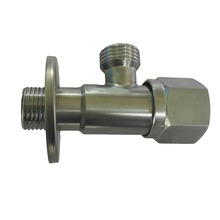 LF36018-G1/2*G1/2 100% SUS 304 Accessories Angle Valve for Washbasin/Water Heater/Kitchen / Toilet / Angle Valves
