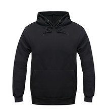 Mens Pure Solid Black Color Hoodie Men Fall Autumn Winter Clothing Male Boys Top Shirt Hoodies And Sweatshirts Mens Clothing(China (Mainland))