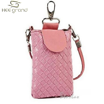 Brand Super Promotion Wholesale Exquisite Lovely Multipurpose Woven Cell Phone Bag Pouch Case  B088