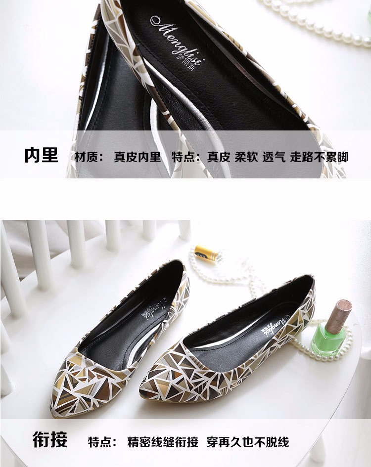 New 2016 Women Spring Summer Shoes Pointed toe Pump Female A Pedal Lazy Single Shoes Lady Shoes Large Size 40-45 z3.5