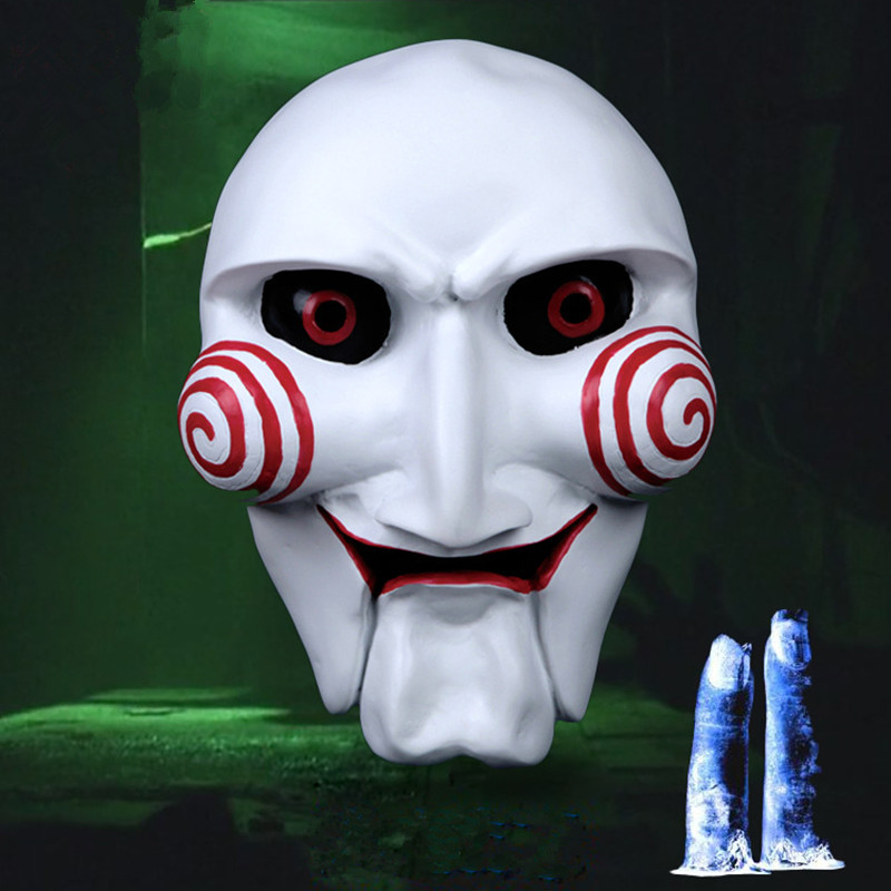 2015 New Electric Saw Puppet Mask Chainsaw Billy Adult Scary Mask Classic Movie Horror For Party Cosplay Halloween Mask(China (Mainland))