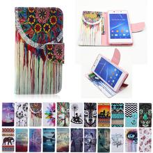 Buy Flip Case Sony Xperia M2 Aqua M 2 M2Aqua Dual S50H D2303 D2406 D2305 D2306 D2302 Duplex Painting Flip Phone Leather Cover for $3.67 in AliExpress store