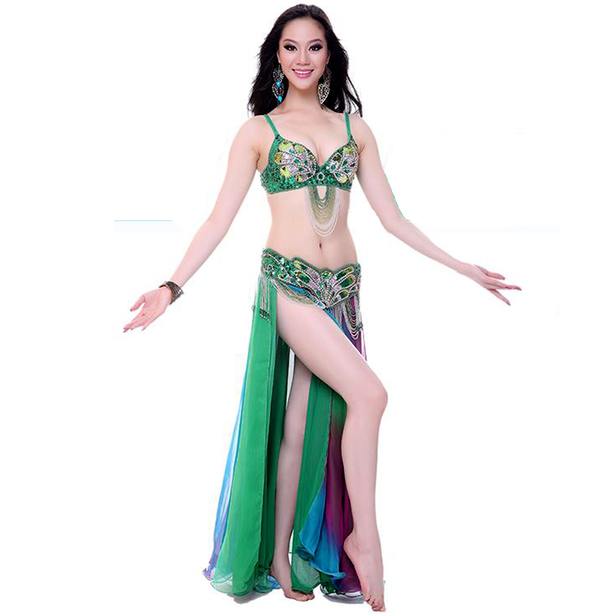 costum dance 3 piece(bra+waist+skirt) gypsy clothing women 7 color belly dance costume set professional free shippingОдежда и ак�е��уары<br><br><br>Aliexpress