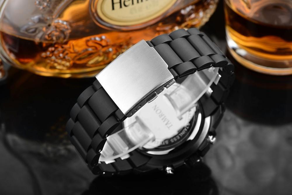 2016 открытый спорт мода человек смотреть япония движение цифровые часы многофункциональный гора световой подняться мужчины наручные часы