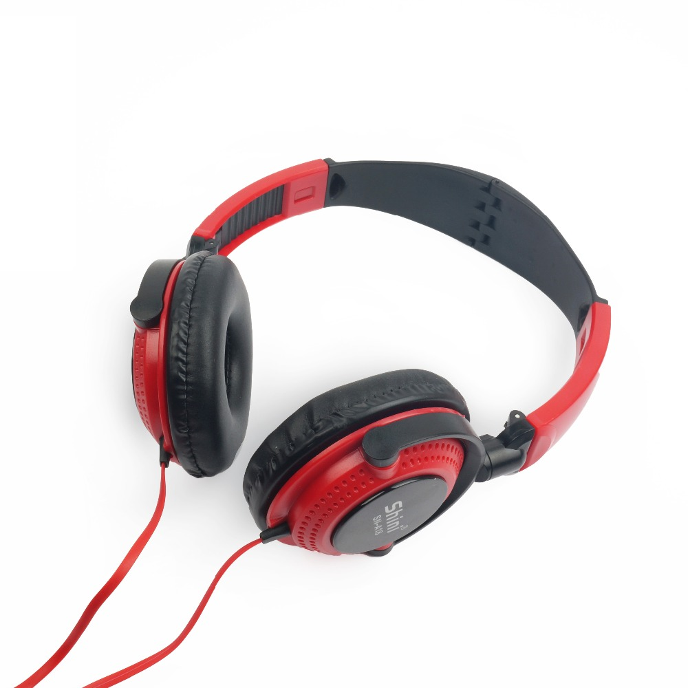 Shini A18 Stereo Headset Headphone Earphone with Microphone 3 5mm Factory Price Wholesale for iPhone and