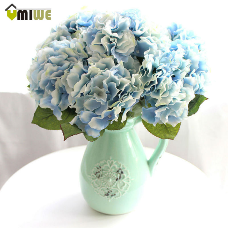 Umiwe wedding decoration artificial flowers real touch for Artificial flowers for home decoration online