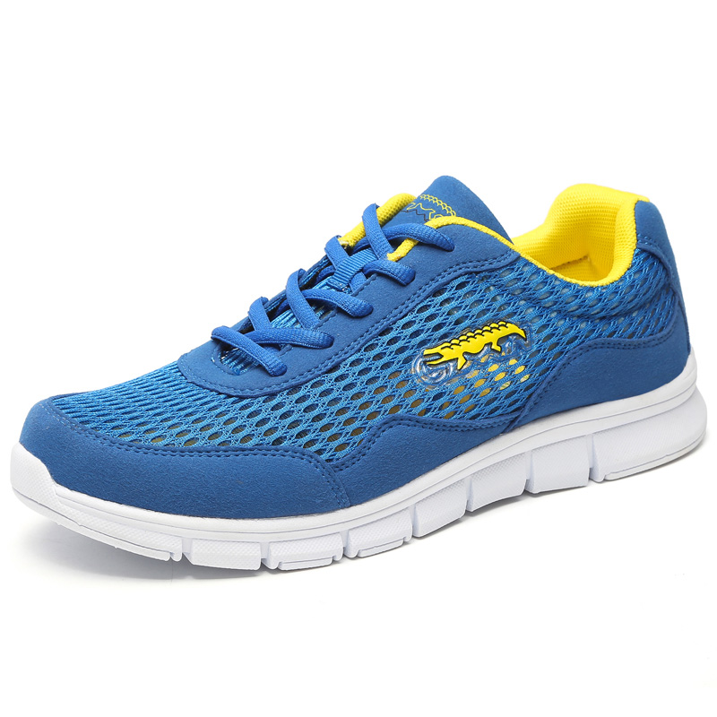 2016 New Men Running Shoes Lightweight Mens Mesh Sport Shoes Brand Sneakers for Men Lace-up Style Shoes Men Trainers(China (Mainland))