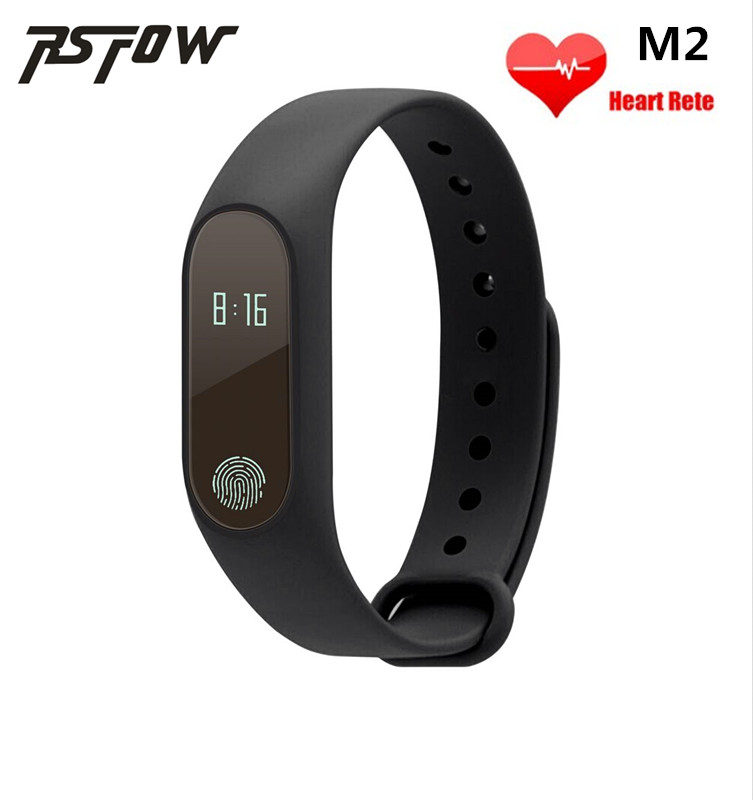 2017 New M2 Smart Bracelet Wristband 0.42 Inch OLED Screen IP67 Waterproof Support Heart Rate Monitor better than Xiaomi band 2(China (Mainland))