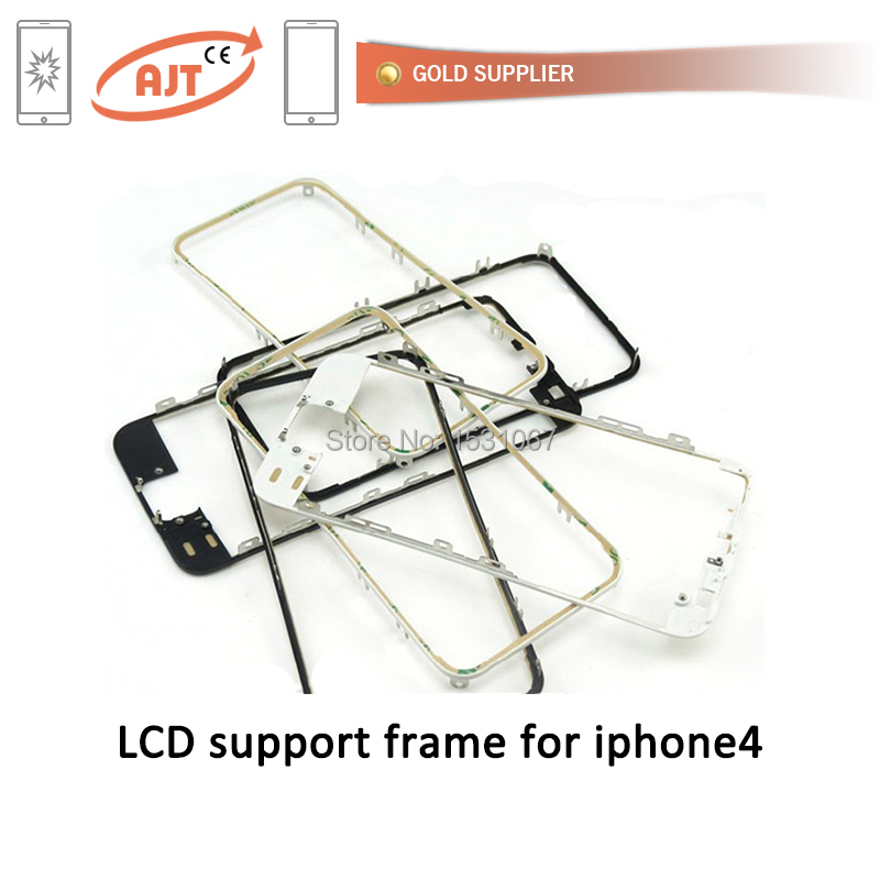 apple frame mobile repair accessories iPhone 4 4s LCD Middle Frame Housing Parts(China (Mainland))