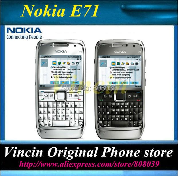original unlocked nokia E71 mobile phone QWERTY Russian&Arabic keyboard Refurbished(China (Mainland))