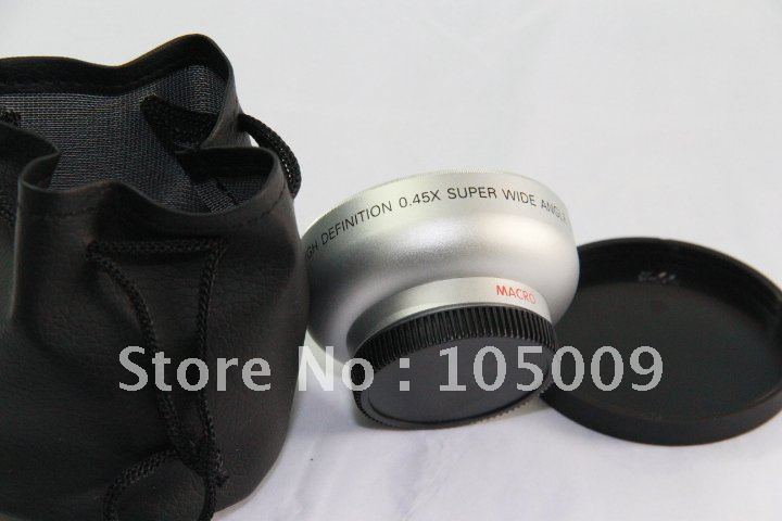 43mm 0.45X Wide Angle Macro Conversion Lens for FOR Panasonic 0.45x 43(China (Mainland))