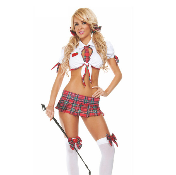 Sexy teacher adult costume