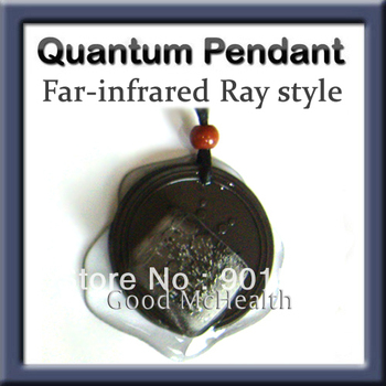 -=< Retail >=- Anti-aging Quantum Scalar Energy Pendant with Far-infrared Ray and ions ice-melting TEST Free Shipping