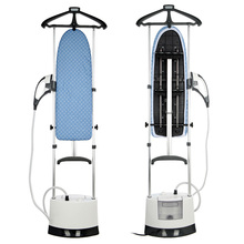 Garment Steamer with Plastic Steam Head Steamer Multi-function Ironing Machine Double Pole Hang Steam and Dry Iron(China (Mainland))