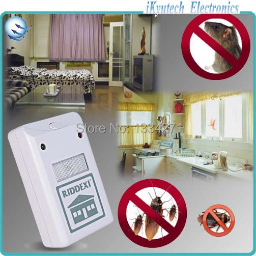 2014 New Arrival Hot Sales Ultrasonic Electronic Anti Mosquito Mouse Insect Cockroach Pest Repeller Reject(China (Mainland))