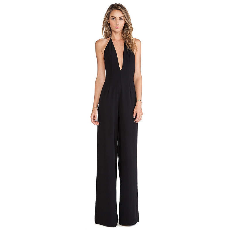 Fantastic 2016 Fashion Elegant Jumpsuits Rompers Women Sexy Summer O Neck