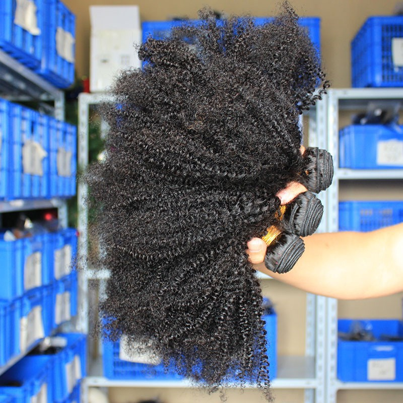 DHL free  6A cheap brazilian kinky curly hair weft  3pieces/lot afro kinky curly virgin hair natural black hair weaves<br><br>Aliexpress